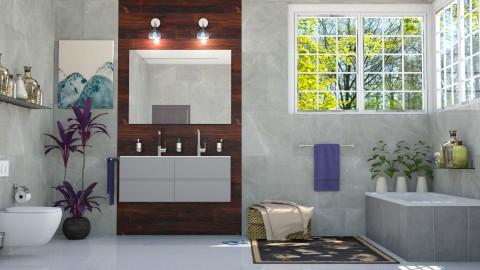 Banheiro - Bathroom - by Alecio