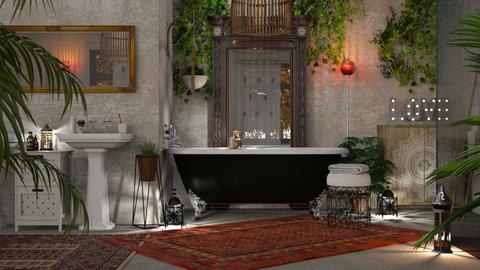 Bohemian Bathroom - Bathroom - by GraceKathryn