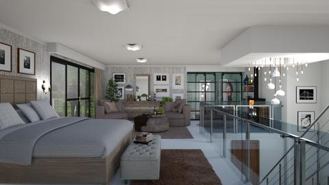 second floor - Modern - Living room - by Ida Dzanovic