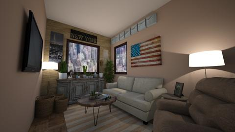 City Life - Eclectic - Living room - by Jobunches