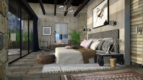 Bedroom Suite I - Eclectic - Bedroom - by evahassing