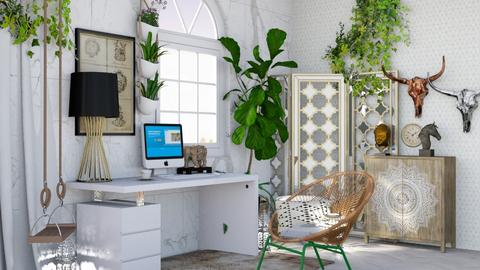 Bohemian Office - Office - by Aural_