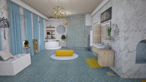Mstr Bath - Glamour - Bathroom - by alonatech_2nd