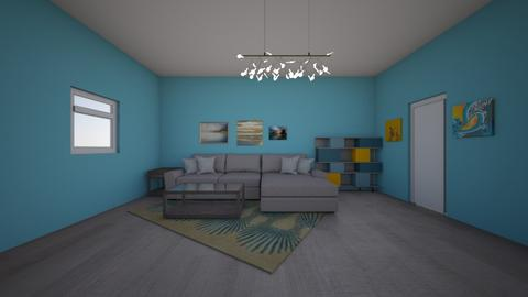 Off the Deep End - Living room - by Callie Carlson_192