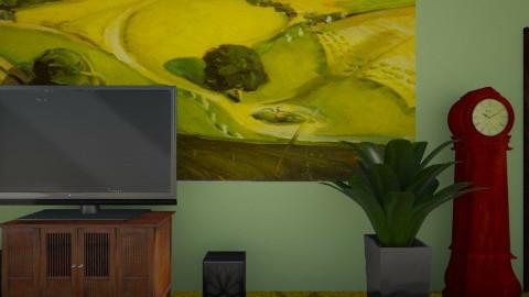 Kitchen and living room - Vintage - Kitchen - by Brigitte Rehatta
