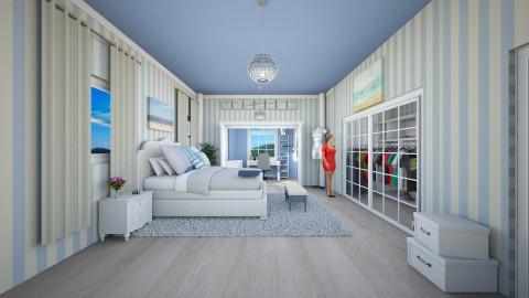 Beach house bedroom - Classic - Bedroom - by UloveTashi Designs
