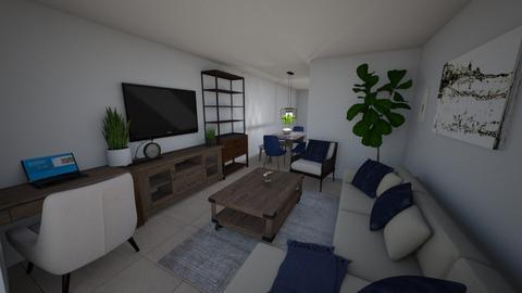 Sarah Apt 2 Living Room  - Living room - by emmanuelmanny