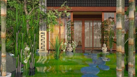 zen - Garden - by jjannnii
