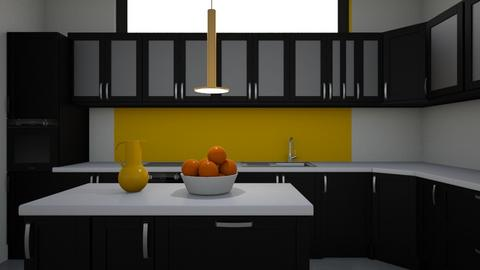 Simple Yellow - Kitchen - by Lailost