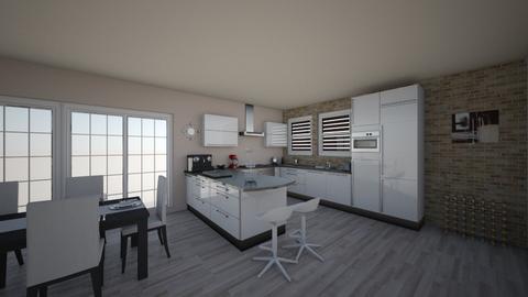 Midcentury Kitchen - Kitchen - by VaeMa