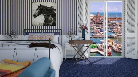 Room BB Harbour View - Bedroom - by Alejandra Urq