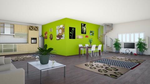 green of envy - by kelseysun
