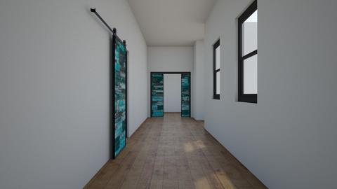 Urban Jungle Hallway - by matina1976