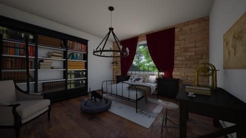 Mod_Vict_Ind_BR - Bedroom - by RhonaFiles