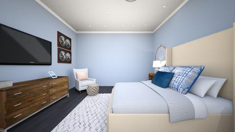 Contemporary bedroom - Classic - Bedroom - by George Street Interiors