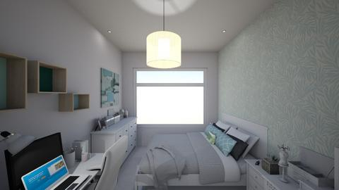 Vivians bedroom 3 - Modern - Bedroom - by Vivianhsuan