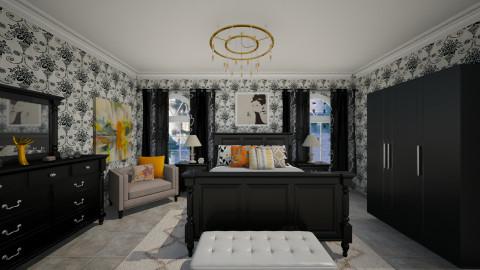 F 2000 - Bedroom - by Elisa Gate