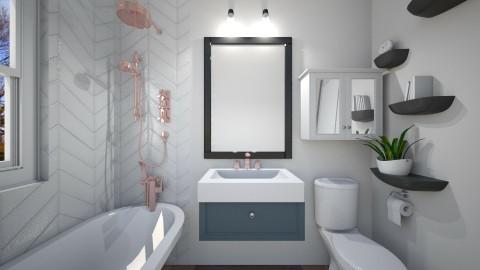 downstairs bathroom - Bathroom - by Kaylin1313