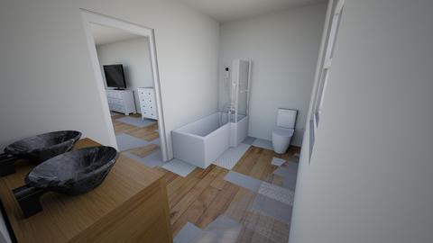 New Master Bath Upper - Bathroom - by durkadur26