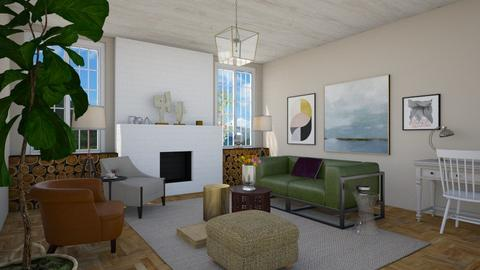 Simple Life - Eclectic - Living room - by 3rdfloor