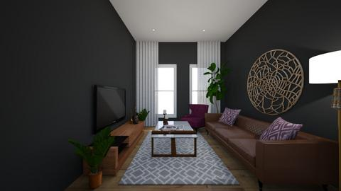 blackk - Living room - by BehkDan