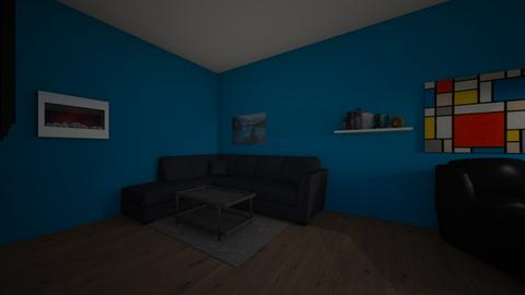 MY HOUSE BOIZZZZ  - Living room - by kanekeller