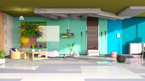 Multicolored lighting - Modern - Kids room - by elephant in savanna