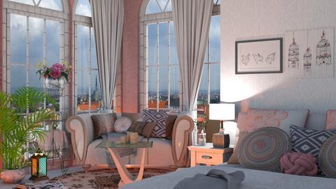 modern eclectic - Bedroom - by snjeskasmjeska