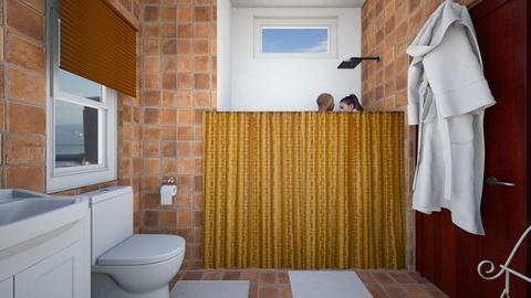 City Apartment Bathroom - Bathroom - by SammyJPili