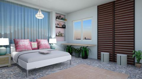 pastel colors  - Modern - Bedroom - by zayneb_17