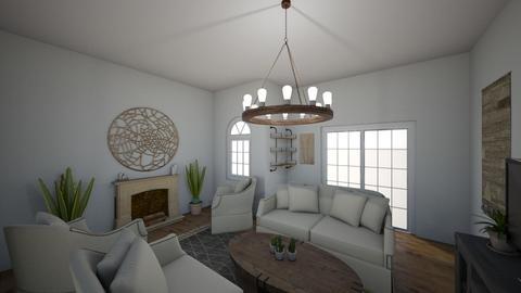 Southwest Chic - Living room - by hlk