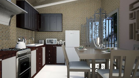 Pequena cozinha - Kitchen - by Elisa Gate