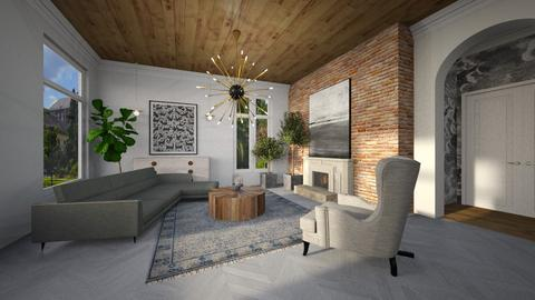 Template 2019 living room - Classic - Living room - by tolo13lolo