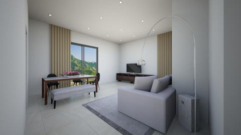 Salotto soluzione 8 - Modern - Living room - by EveDesign