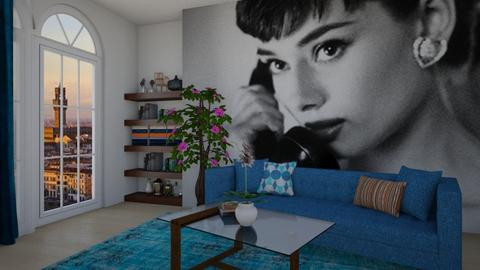 Audrey  - Living room - by colorful_eye