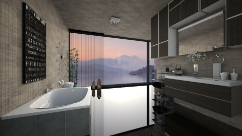 Lily - Modern - Bathroom - by Saharasaraharas