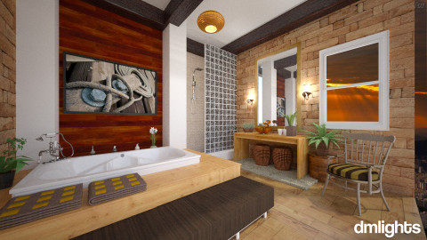 Rustico - Bathroom - by Roberta Bela