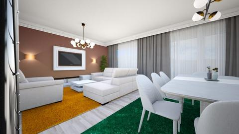 sufragerie - Modern - Living room - by Popa Bianca Rozalia