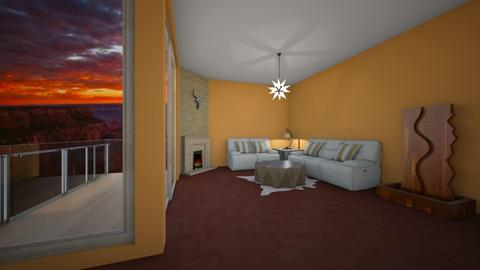 Grand Canyon Love - Living room - by abards97