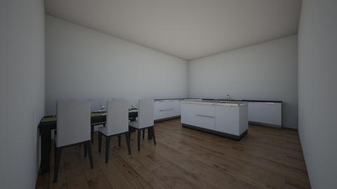 keuken van sjoerd - Kitchen - by Sjoerdwierdpitstra