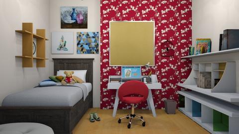 Teenage Room - Modern - Bedroom - by colorful_eye