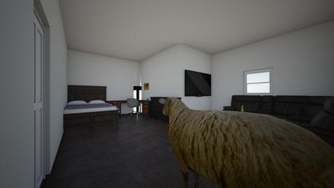 Living room and bed room - Modern - Living room - by Colby231