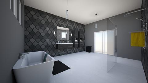 Modern Bathroom - Bathroom - by mrolls