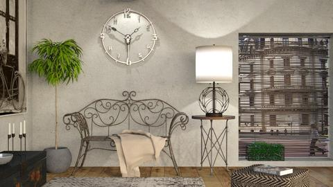 Tic Tac - Vintage - Living room - by Sally Simpson