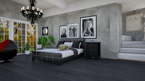 murano bedroom - Modern - Bedroom - by Badgalriri