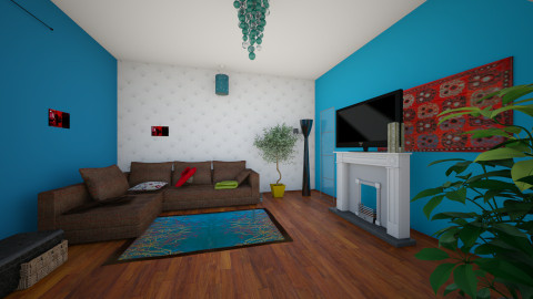 salon 1 - Living room - by Jo Boulette