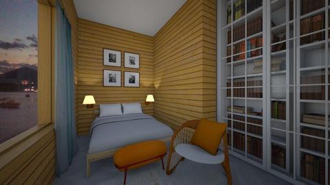 wood - Bedroom - by nevenadesko