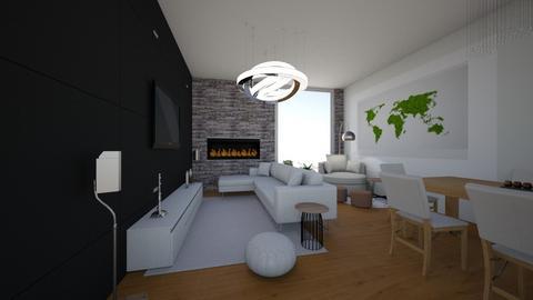 Dianas Living Room - Living room - by DianaAndreea