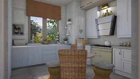 Small with cake  - Kitchen - by Tree Nut