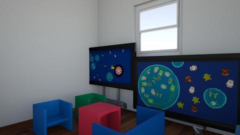 Indoor classroom - Kitchen - by torityna